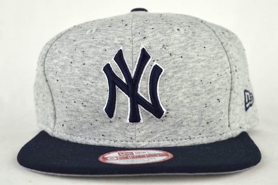 Image of NEW YORK YANKEES HEATHER SPEC 9500F NEW ERA MLB SNAPBACK