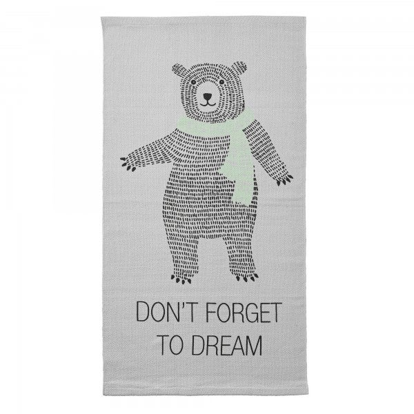 Image of Don't Forget to dream, cotton rug 120cm