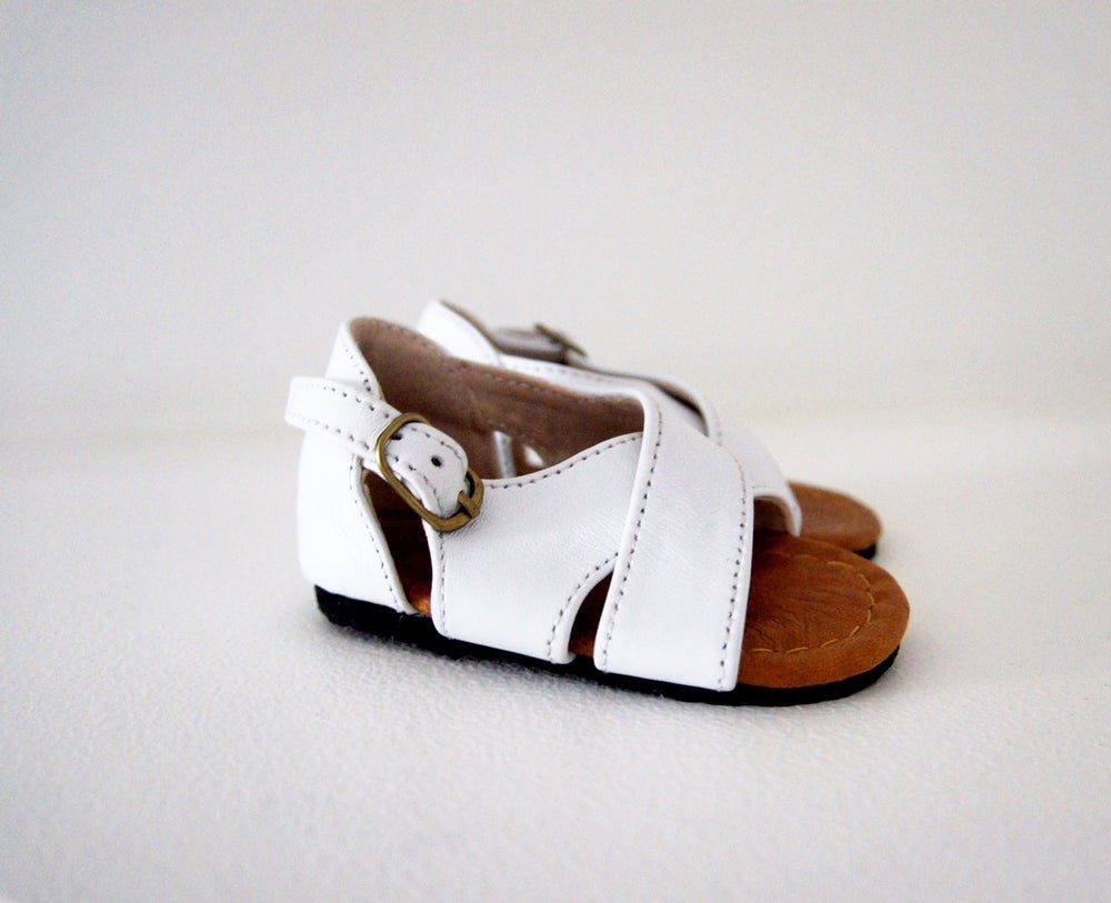 Image of Lola Sandal - white