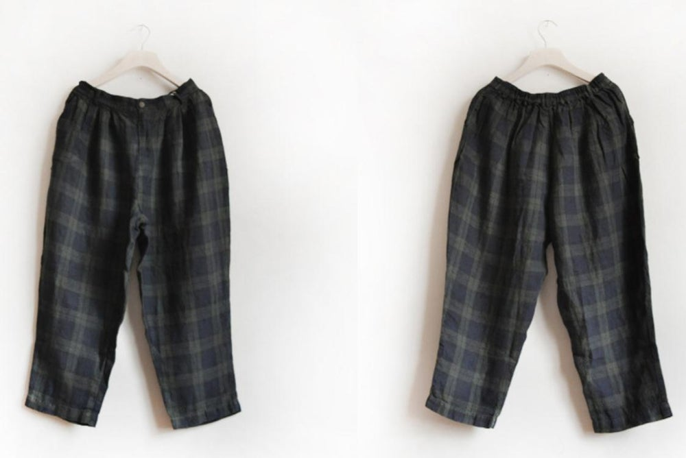 Creative Green Tartan Pants Womens Plaid Pants Womens By TheBraidedBandit