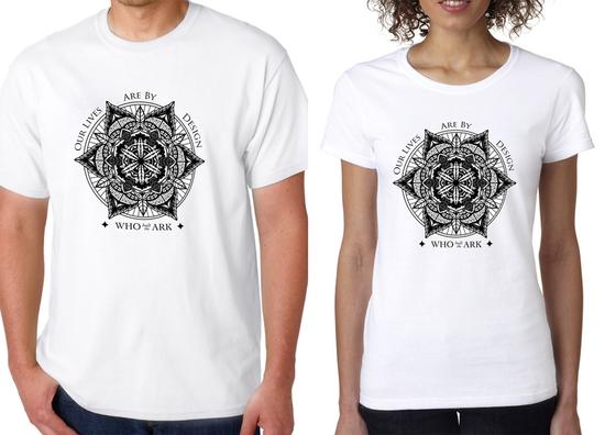 Image of Patterns T-Shirt White