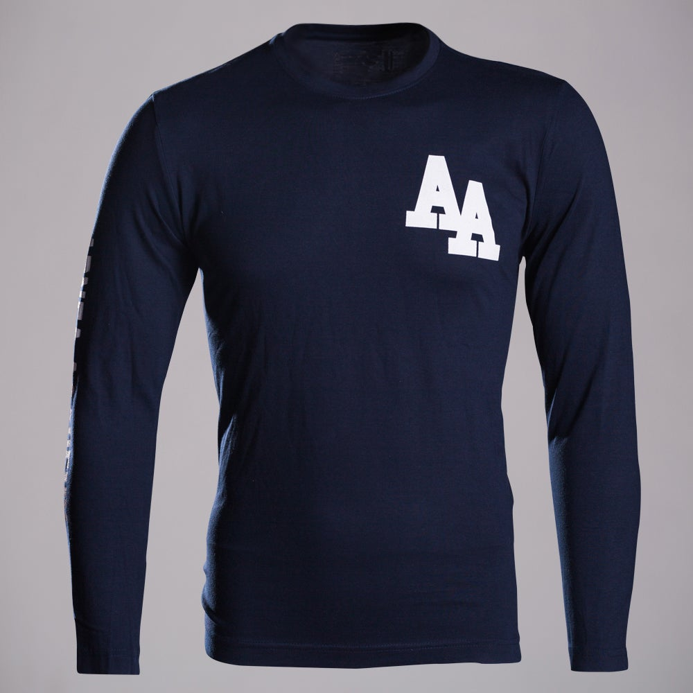 Image of Navy LONG SLEEVE T