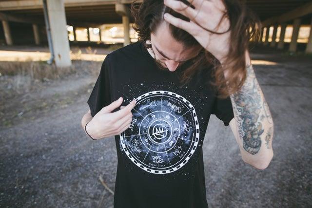 """Image of Doomtree """"Star Map"""" Shirt"""