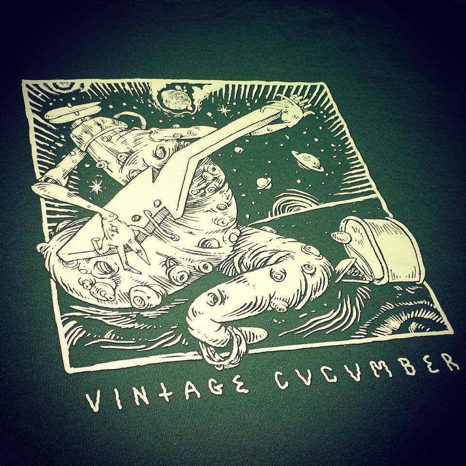 Image of Cucumber Space Dance T-Shirt Green