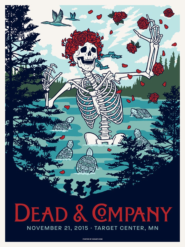 Gigart Dead Amp Company 2015 Main Show Poster