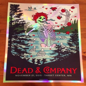 Image of Dead & Company 2015 - Foil Variant