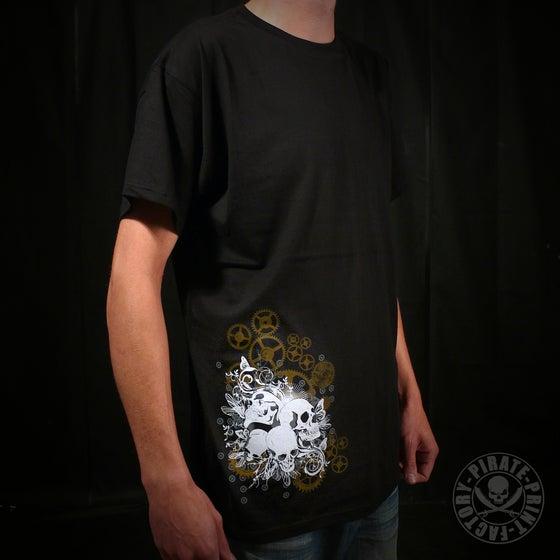 Image of T-shirt Skulls & Gears