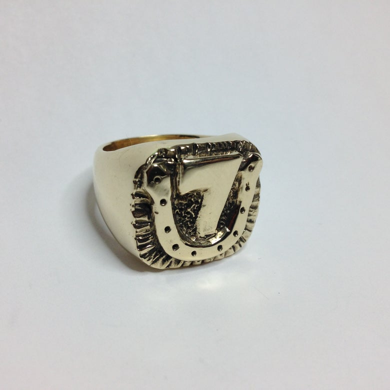Image of Bronze Lucky7 Ring