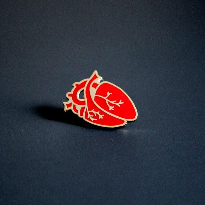 Image of Enamel Heart Pin
