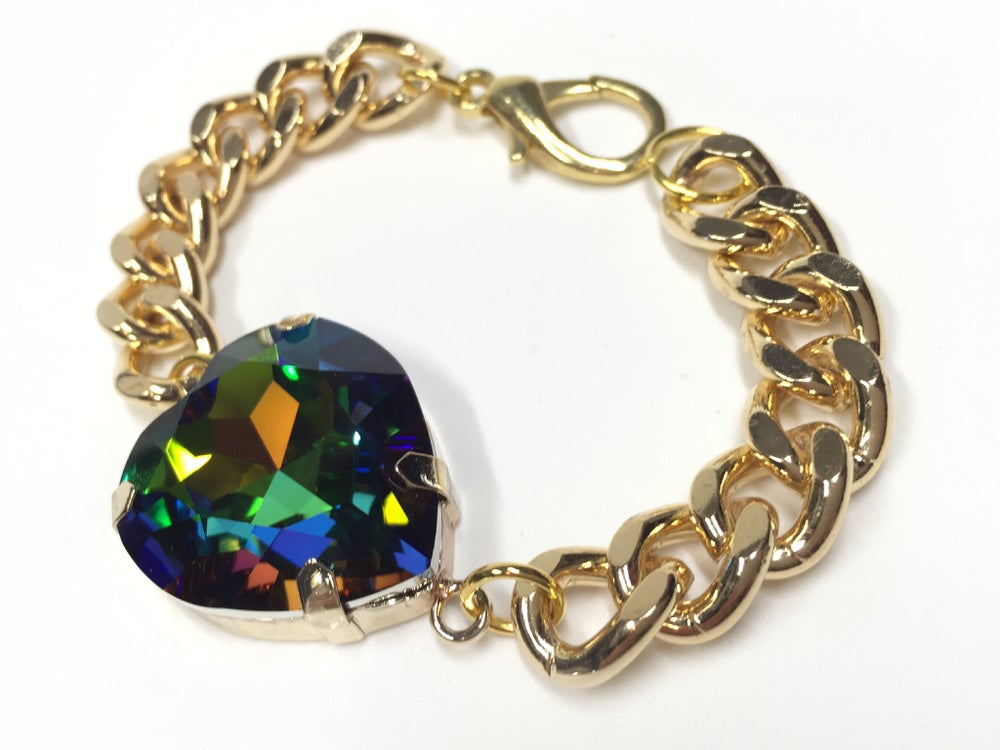Image of Be Still My Beating Heart bracelet