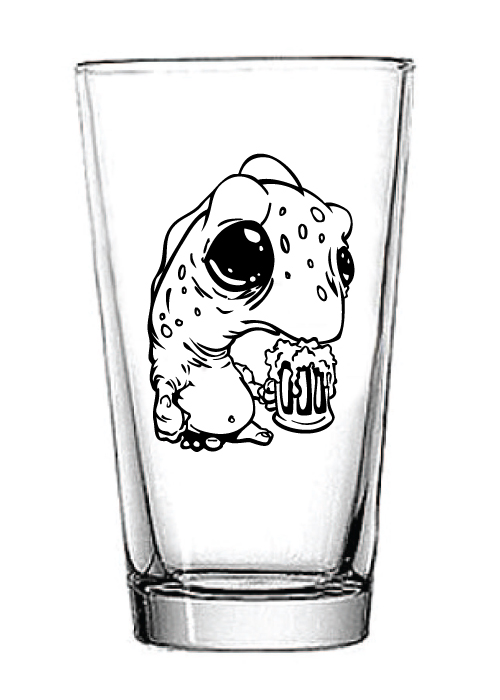 Image of Pint Glass Monster Pint Glass