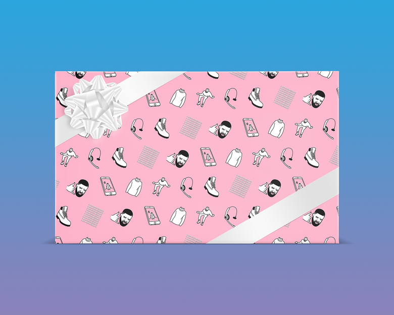 Image of Hotline Bling Gift Wrap