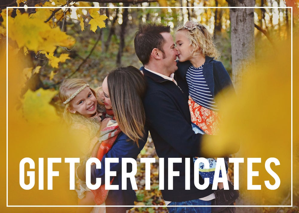 Image of GIFT CERTIFICATE >> sessions