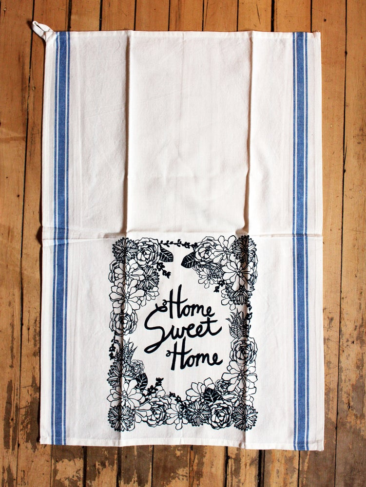Image of Home Sweet Home Succulent Towel