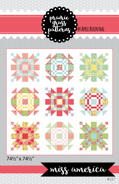 Image of Miss America: PDF Quilting Pattern #137