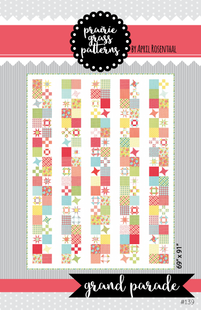Image of Grand Parade: PDF Quilting Pattern #139