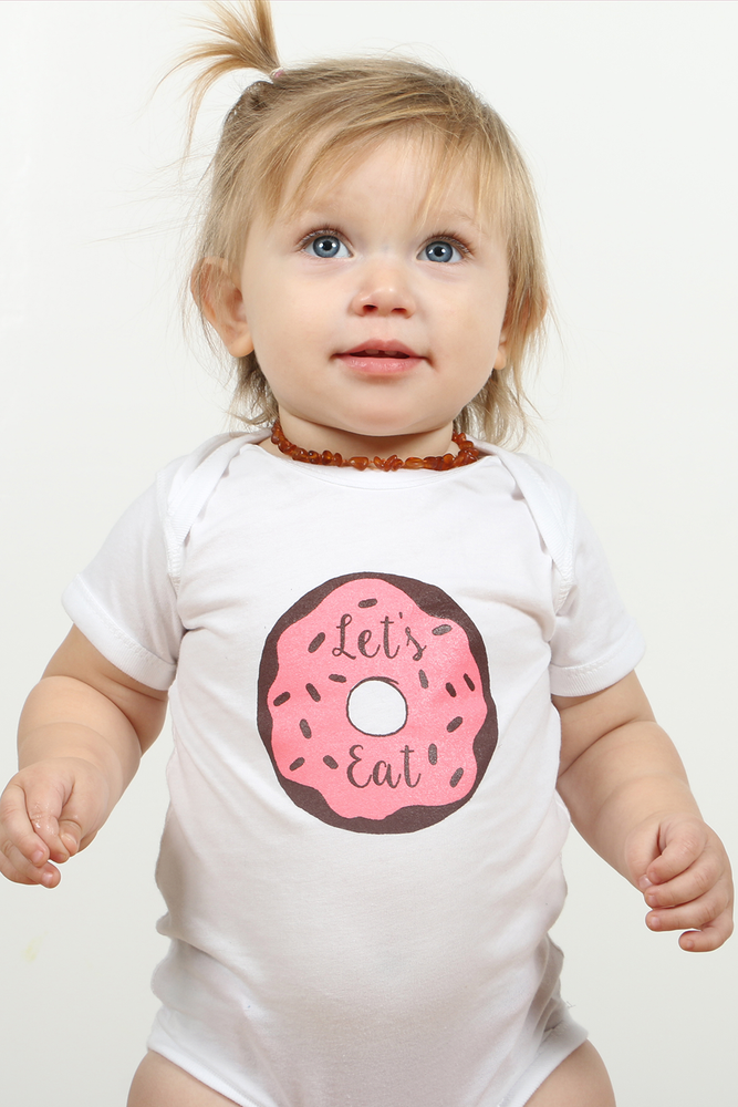 Image of Let's Eat, Baby Onesie