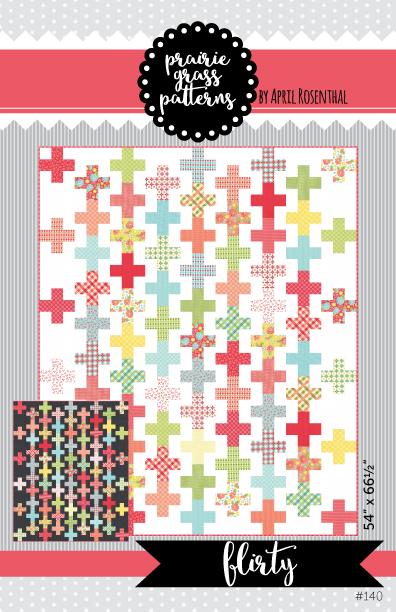 Image of Flirty: PDF Quilting Pattern #140