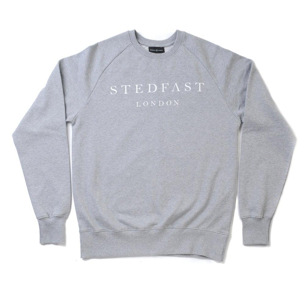 Image of Stedfast London Grey Sweatshirt