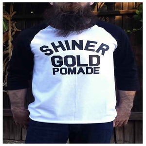 Image of SHINER GOLD BASEBALL TEE