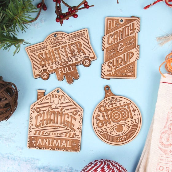 Image of *PRE-ORDER* Holly Day Ornaments