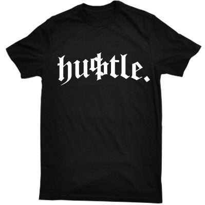Image of Dirty Paper Hustle T-Shirt Tee Black