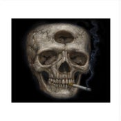 "Image of Tricloptic Skull- 8x10"" Open Edition Print"