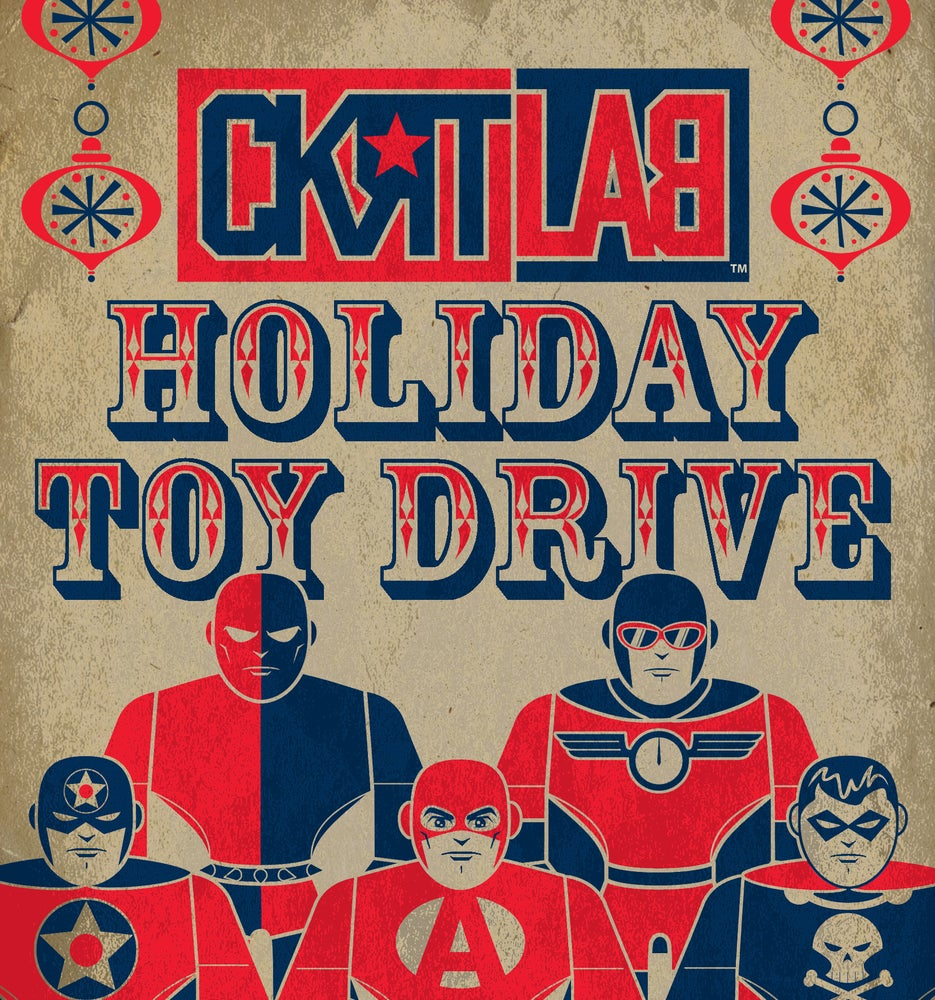 Image of CKRTLAB TOYS HOLIDAY TOY DRIVE 2017