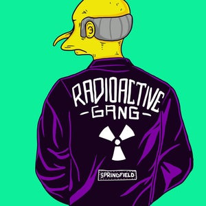 Image of Mr Burns - Radioactive Gang