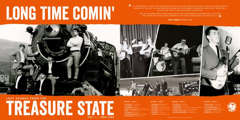 Image of Long Time Comin' - Lost Sounds from the Treasure State Vol.1