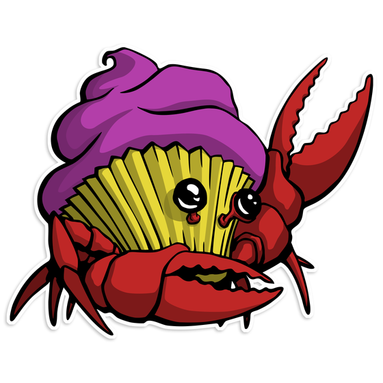 Image of Crabcake Sticker