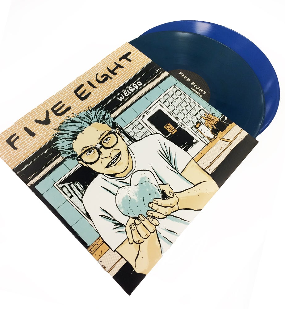 "Image of ""Weirdo"" 2LP Vinyl - Blue or 180g Black"