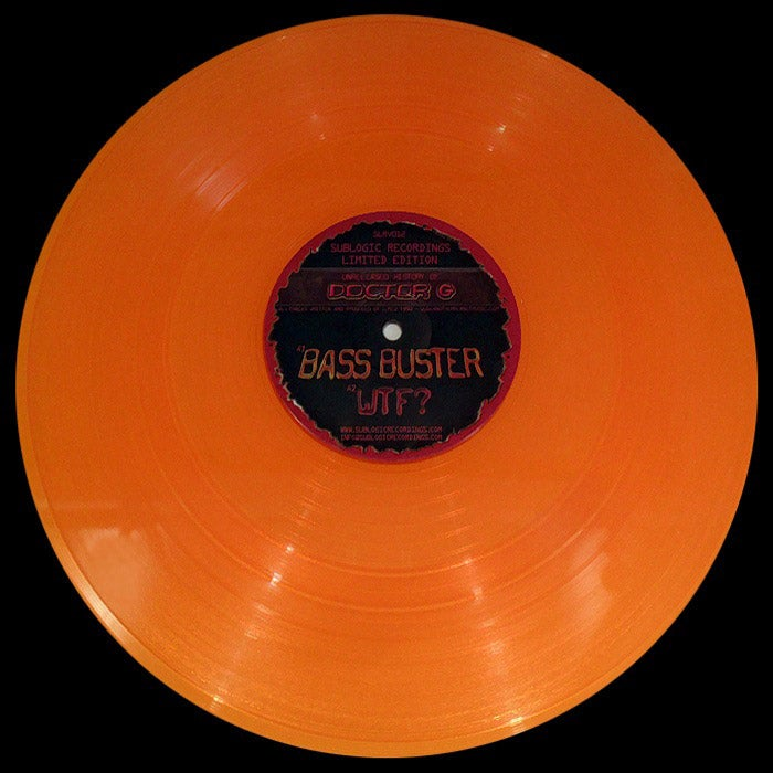 """Image of Doctor G - Unreleased History Of Doctor G - SLRV012 - 12"""" Vinyl - SOLD OUT"""