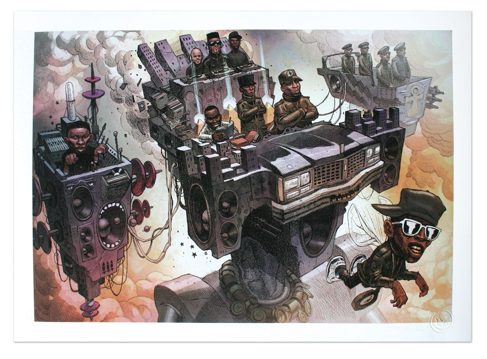 Image of Public Enemy - Limited Edition Giclee Print