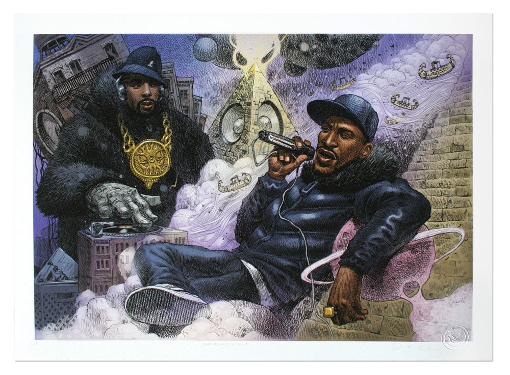 Image of Eric B & Rakim - Limited Edition Giclee Print