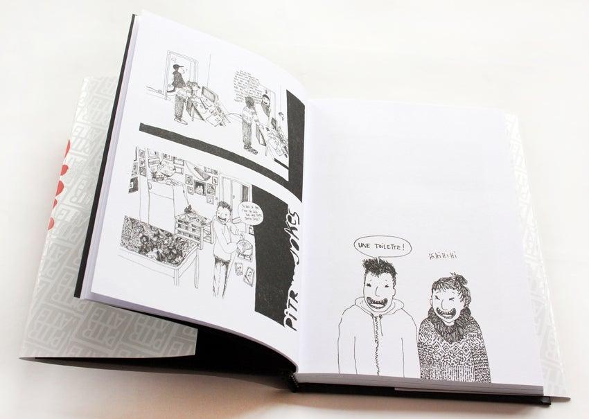 Image of BAISER D'ENCRE, le nouveau livre ! The new book !!