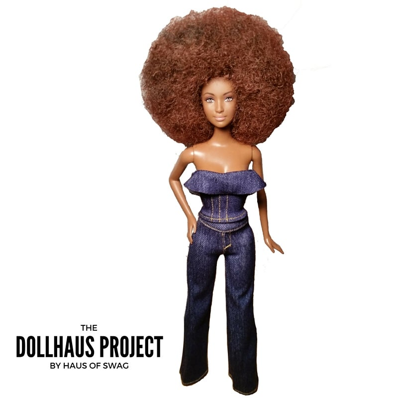 Image of Denim Fashion Doll