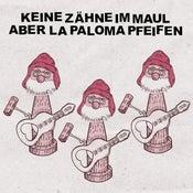 Image of Keine Zähne Im Maul Aber La Paloma Pfeifen - s/t (clear transparent vinyl / black vinyl) LP
