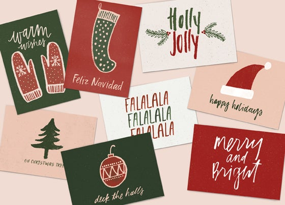 Image of Holiday Greeting Card Bundle (Set of 8)