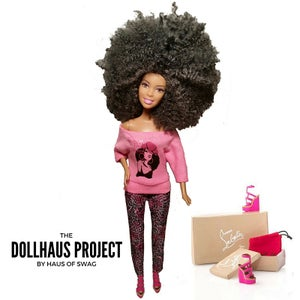 """Image of Respect My Flyness """"Pinkie"""" Fashion Doll"""