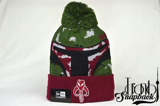 Image of STAR WARS GALACTIC BIGGIE BOBA FETT BEANIE