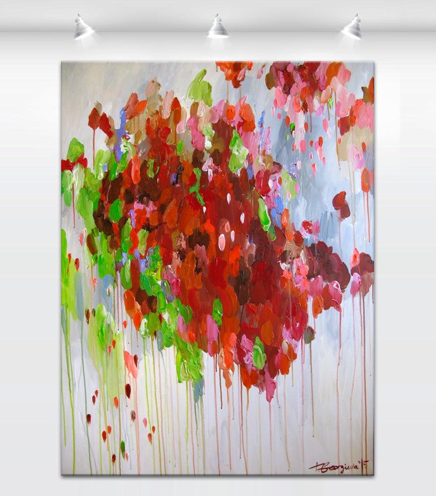 Image of 'Red terrae'  90x120cm