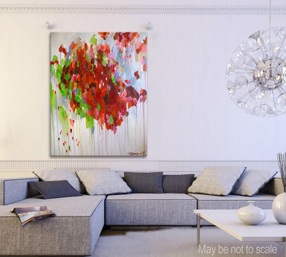 Image of 'Red terrae'  90x120cm