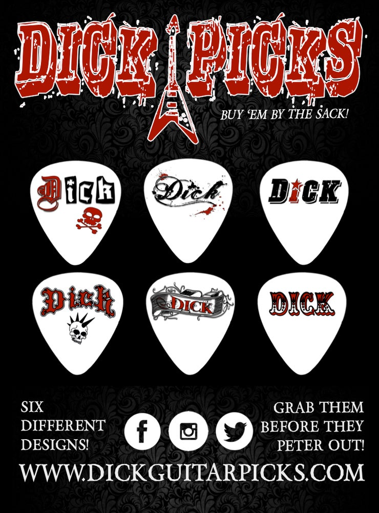 Image of Dick Guitar Picks