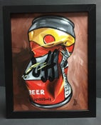 Image of Duff - Acrylics on Panel, Framed