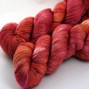 Image of Pomegranate - Merino/Silk Sock Yarn