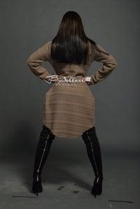 Image of Raggedy Ann oversized sweater Beige