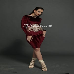 Image of SoHo Wine dress