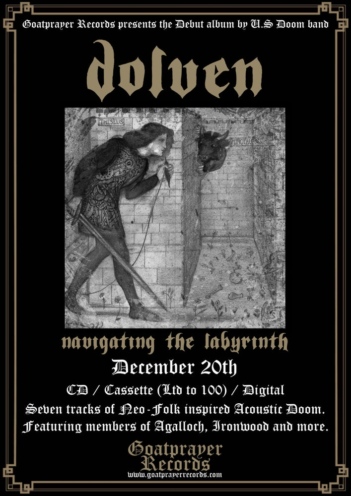 Image of DOLVEN - NAVIGATING THE LABYRINTH (CD)