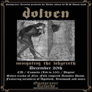 Image of PRE-ORDER: DOLVEN - NAVIGATING THE LABYRINTH (TAPE)